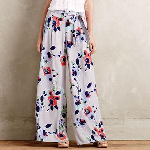 Elevenses 4 Floral Ambrosia Pants Wide Leg